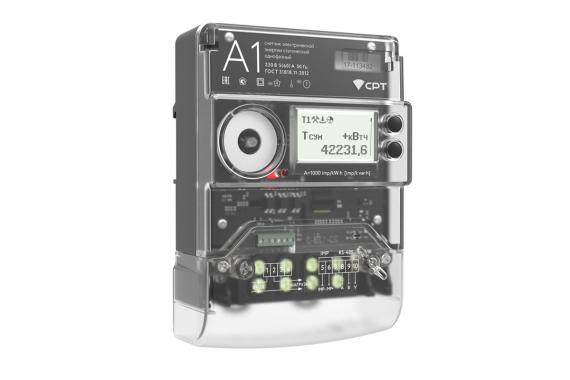 «Умный» электросчетчик «A1» с радиомодемом СРТ однофазный