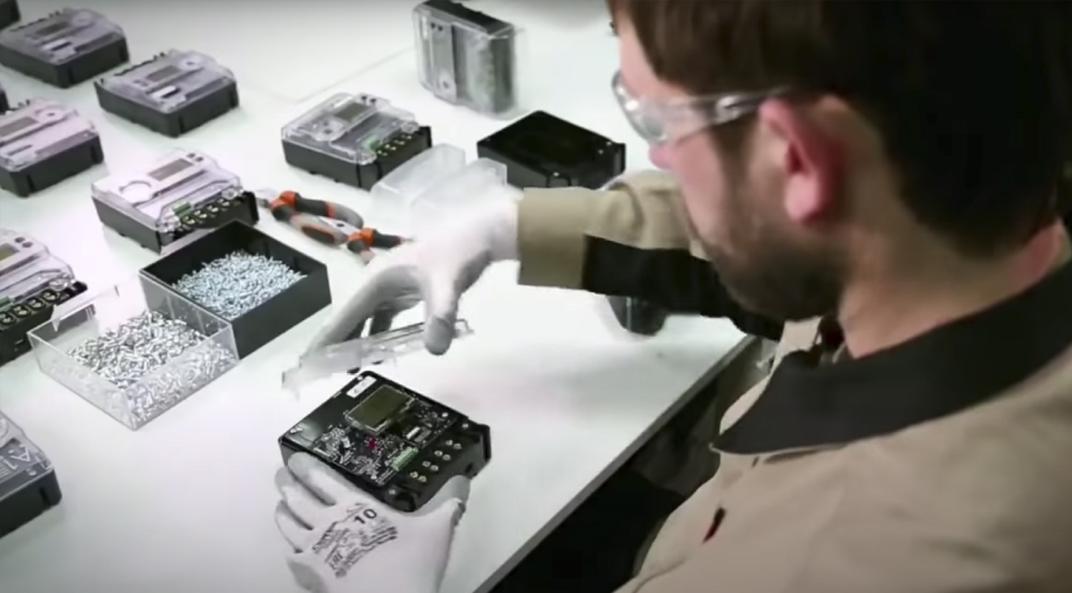 Сборка умного электросчетчика